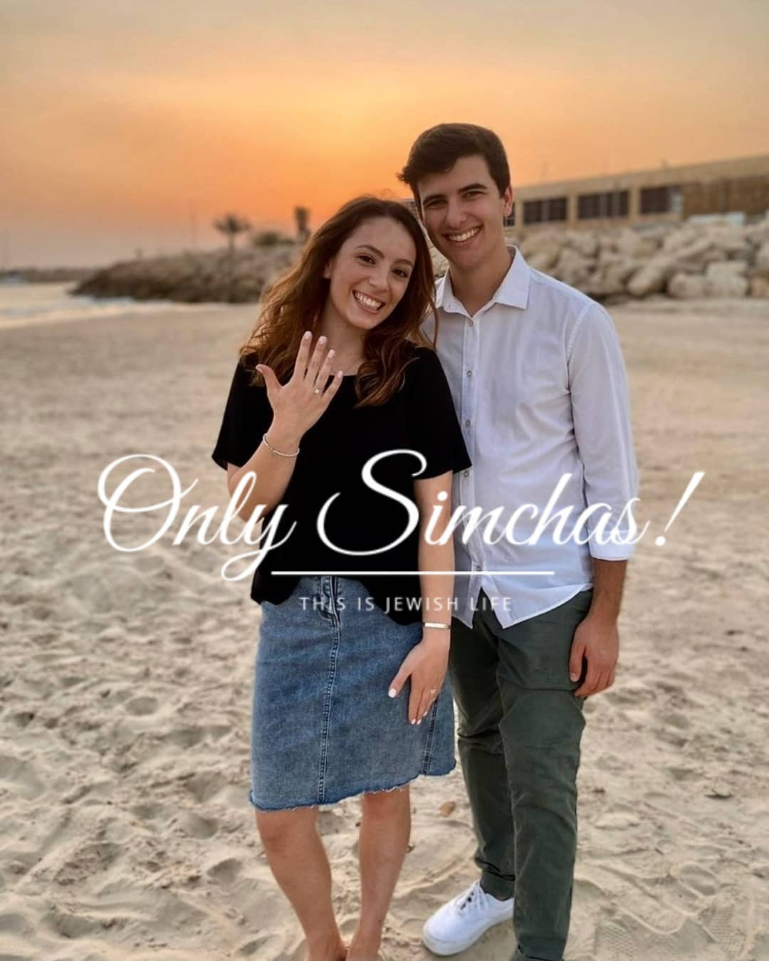 Engagement of Ariel Cohen (#SanFrancisco) and Koby Geduld (#Cleveland #israel)! #onlysimchas
