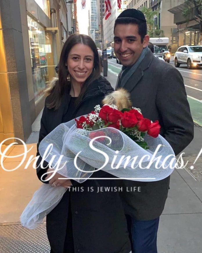 Engagement of Rachel Weissman (#Passaic) and Sammy Levi-Kadi (#Brooklyn)! #onlysimchas #NewYork ·