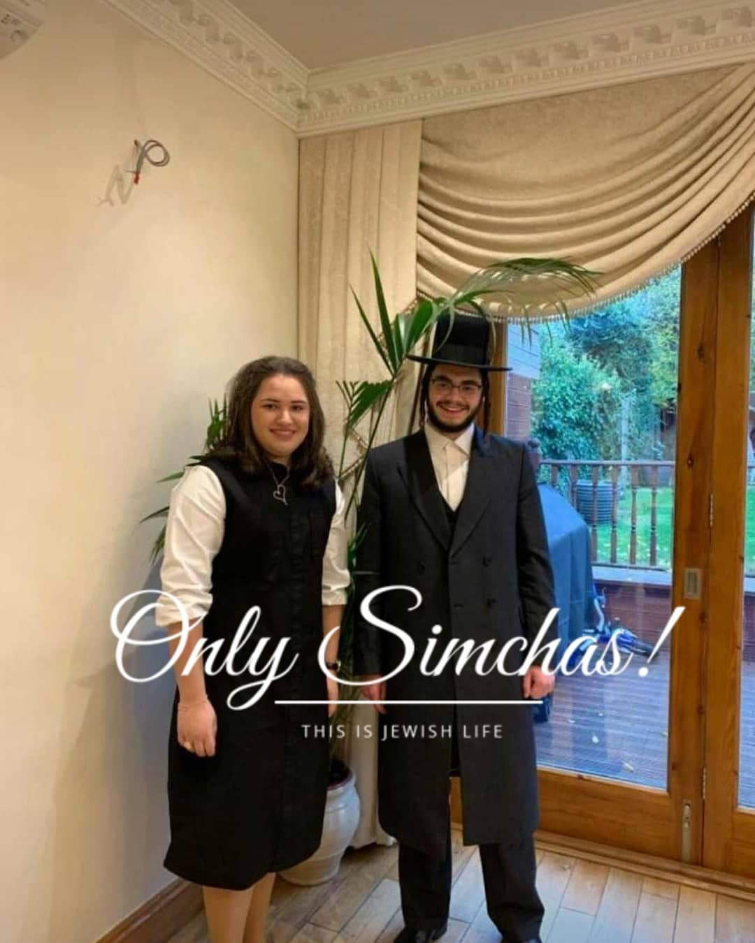 Engagement of Shimmy Shwartz (#Goldersgreen) to Kallah Greenfeld (#StamfordHill)! #onlysimchas ·