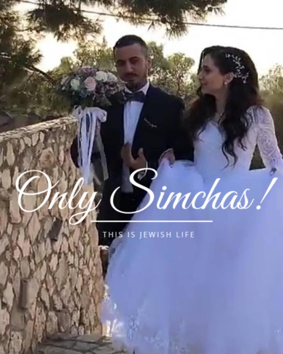 Wedding of Avi and Bertal! #Israel #onlysimchas ·