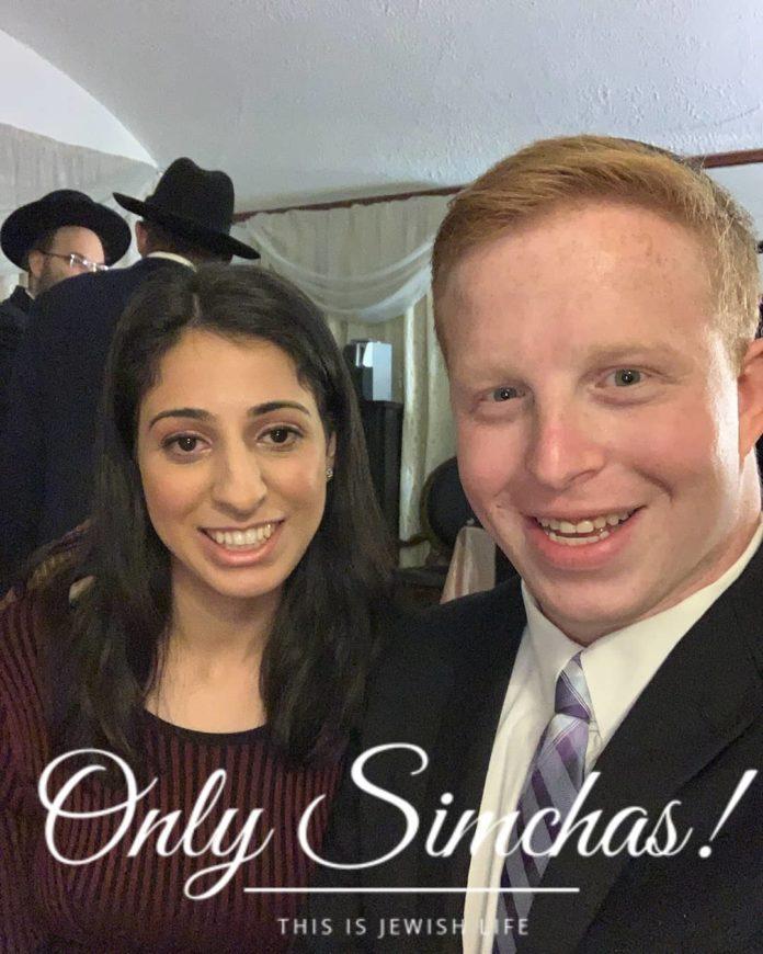 Engagement of Orah Lavian & Ari Schreiber! #onlysimchas