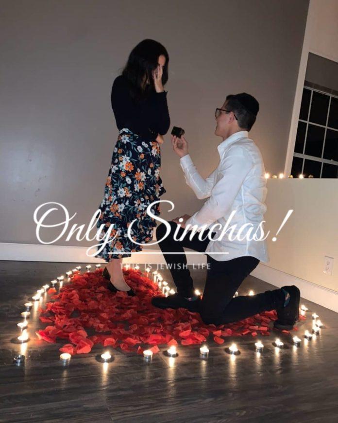 Engagement of Sarah Sabbah OG (#Miami) and Aharon Ettedgui (#Boca)! #onlysimchas