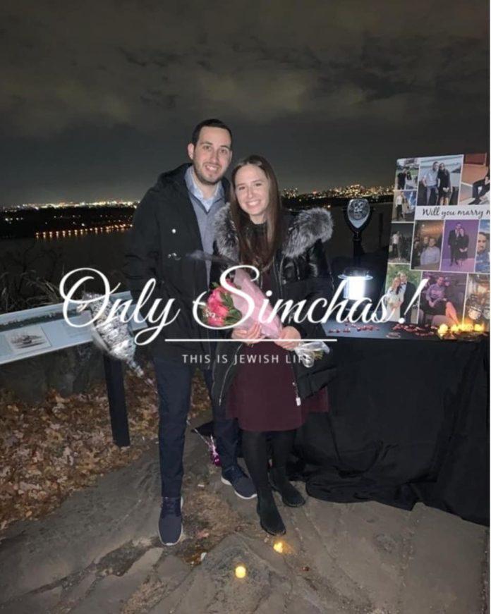 Engagement of Danielle (#LivingstonNJ) and Jacob (#Teaneck)