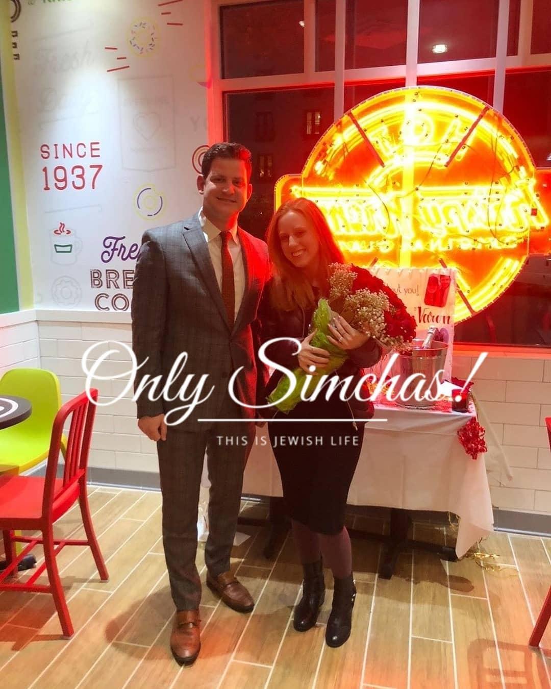 Engagement of Shoshana Varon (#Atlanta) and Ovadia Goldfeiz (#Baltimore)! #onlysimchas