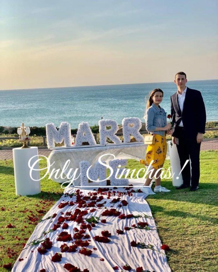 Engagement of Daniel Hasdiel & Noa Oyerbach! #BneiBrak #onlysimchas