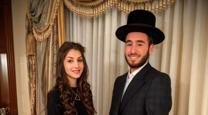 Engagement of Duvi Tauber (#Monsey) to Bruchy Fich (#BoroPark)! #onlysimchas