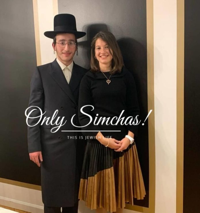 Engagement Of Ari Shtrau {#Monroe} & Kallah Itzkowitz {#Monroe}! #onlysimchas