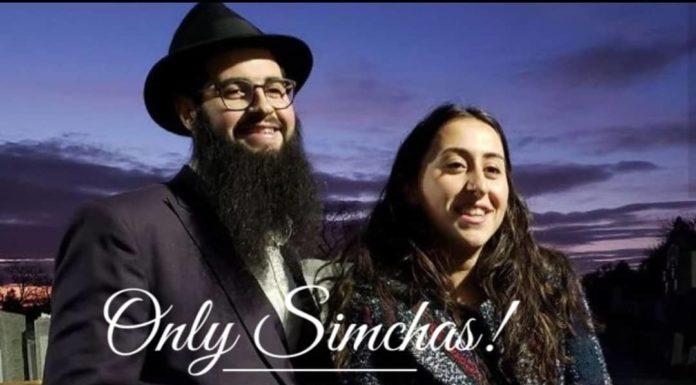 Engagement Of Esther Bekhor {#NJ} & Levi Aronov {#CH}! #onlysimchas