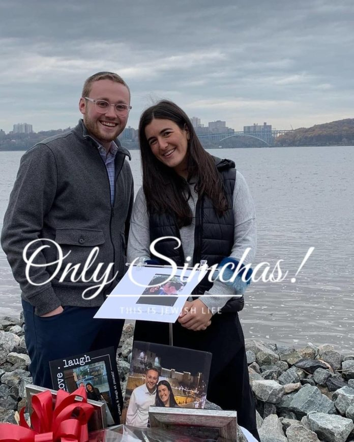 Engagement of Ariel Forman (#Teaneck) and Elisheva Pfeiffer (#Teaneck)! #onlysimchas