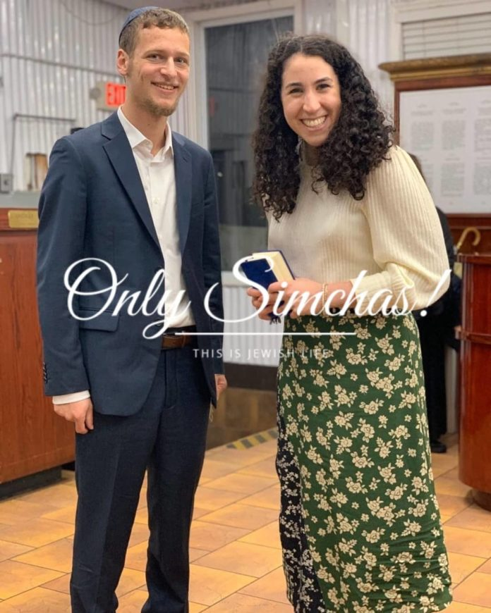 Engagement of Shoshana Leanse (#LosAngeles, CA) and Simcha Wolf (#Baltimore, MD)! #onlysimchas