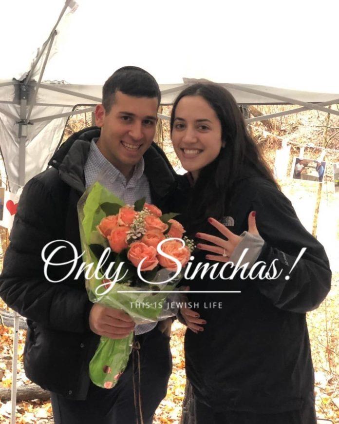Engagement of Yael Greenbaum (#Teaneck) to Eitan Gerszberg (#HighlandPark)!! #onlysimchas