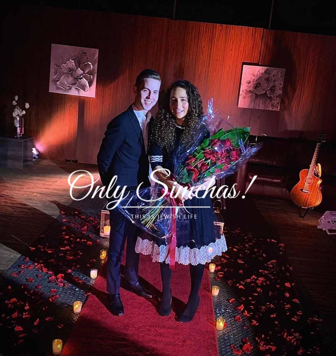 Engagement of Tzvi Fishoff (rythem5) to Aviva Rosenberg!! #onlysimchas via @yankelas