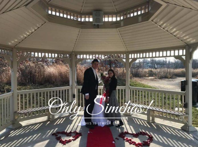 Engagement of Tzvi Kornfeld to Dena Mandelbuam (#LA)! #onlysimchas