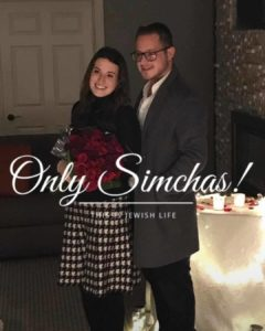Engagement of Chiel Berger (#Chicago) to Shoshana Roberts (#Cleveland)! #onlysimchas