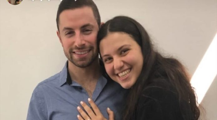 Engagement of Leah Lipsey (#Toronto/#UWS) and Eli Gancz (#Cleveland/#UWS)! #onlysimchas