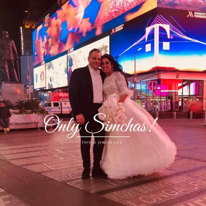 Mazel Tov to Rivky shalitzky and Yehudah Perlowitz (Teaneck, NJ) on their wedding! #onlysimchas