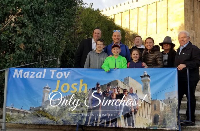 Mazel Tov to Josh Rothenberg on his bar mitzvah! What a beautiful way to celebrate your bar mitzvah! #onlysimchas