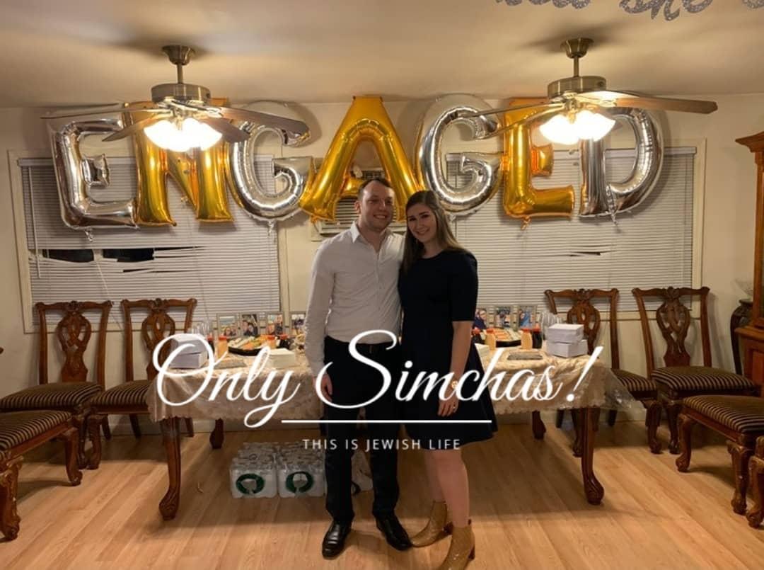 Engagement of Rebecca Linker & Yoni Wolnerman! #onlysimchas