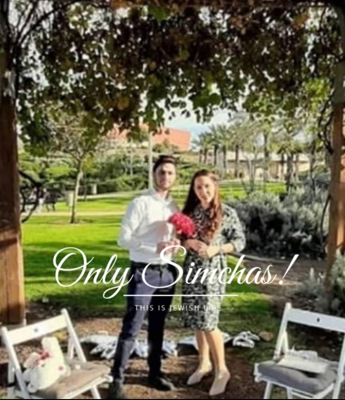 Engagement Of Ariel Bandict & Chani Abritzer! #onlysimchas