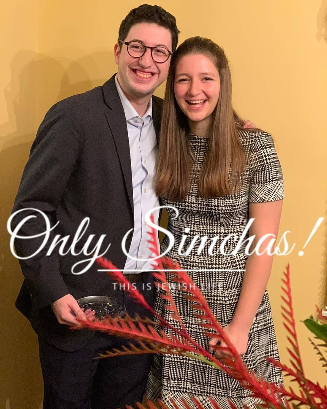 Engagement of Zachary Schechter (#Woodmere) to Chana Tropp (#Teaneck)!! #onlysimchas