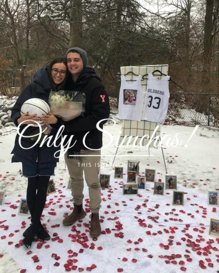Engagement of Zack Goldberg and Jackie Schlussel (#NJ/#Israel)! #onlysimchas