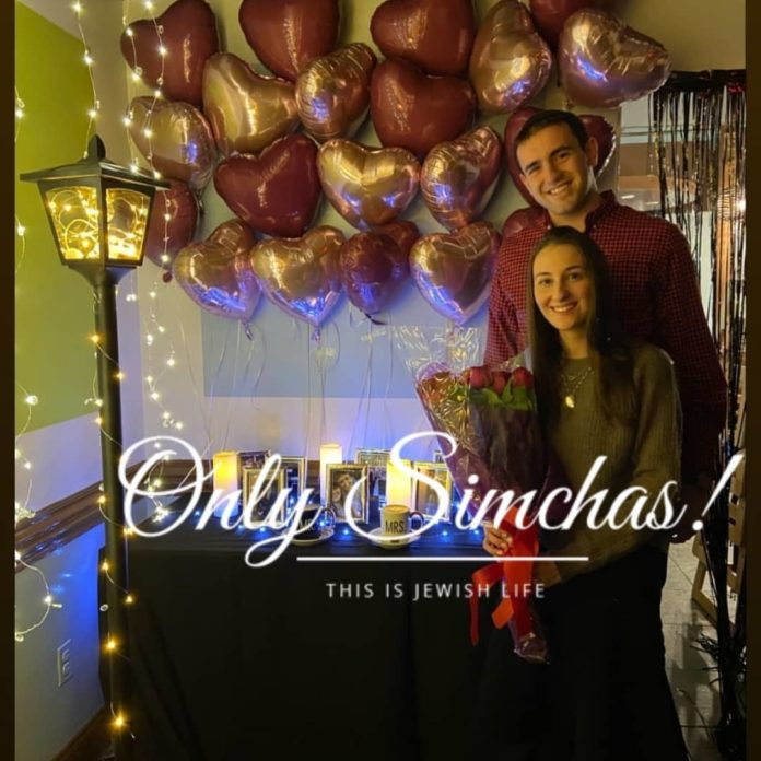 Engagement of Samie Kirschner (#Woodmere) Josh Aranoff (#LosAngeles)! #onlysimchas
