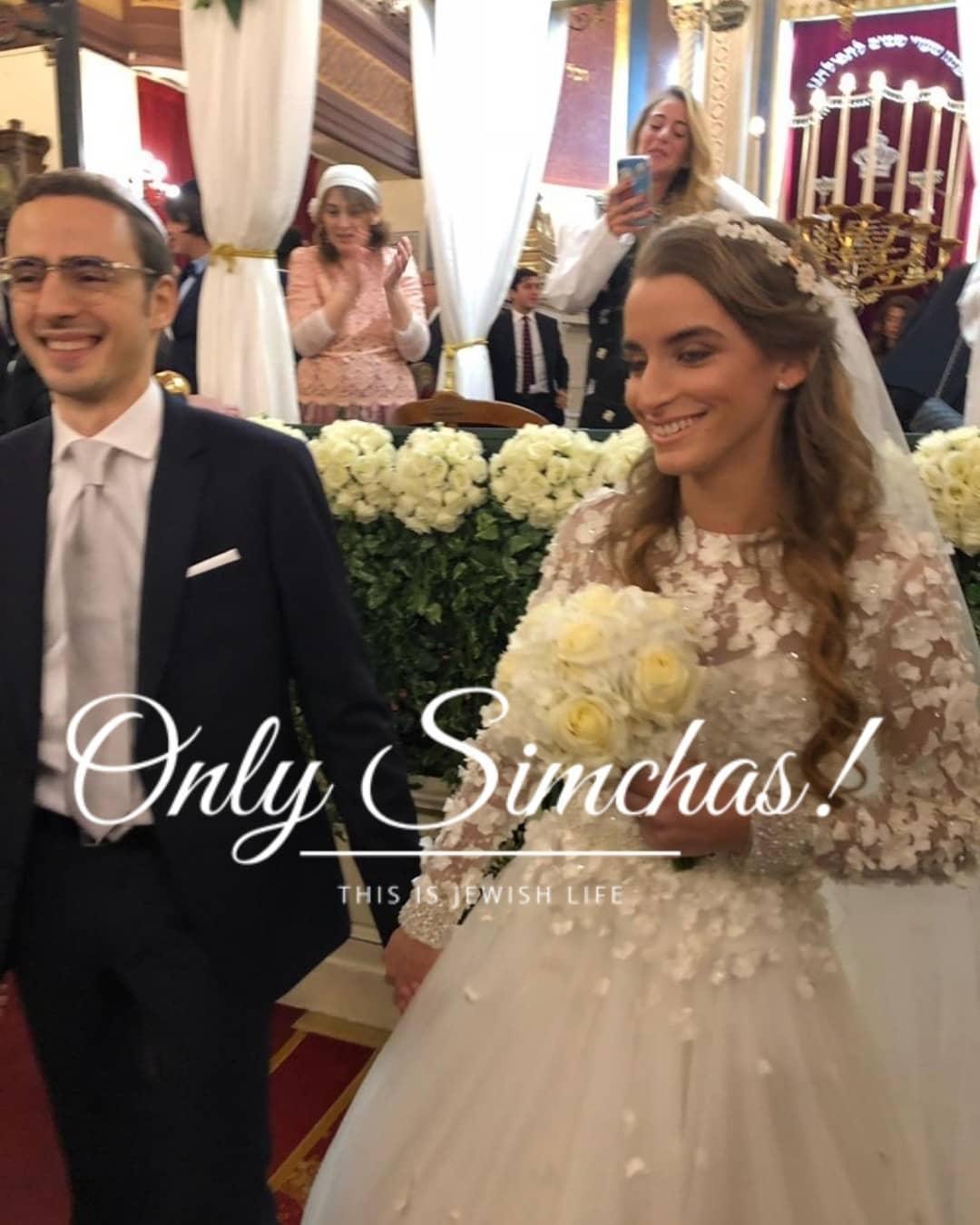 Wedding Jessica Darmon and David Abissera (#Paris)! #Onlysimchas