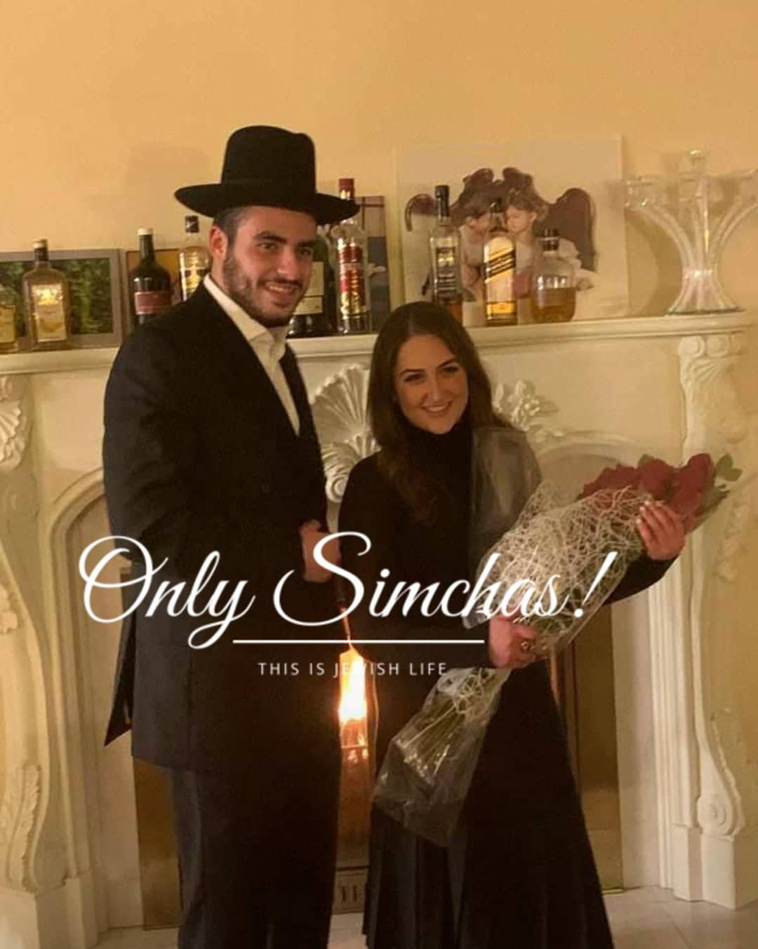 Engagement of Yummy Karmel (#Bp) to Malky Engelman! #onlysimchas