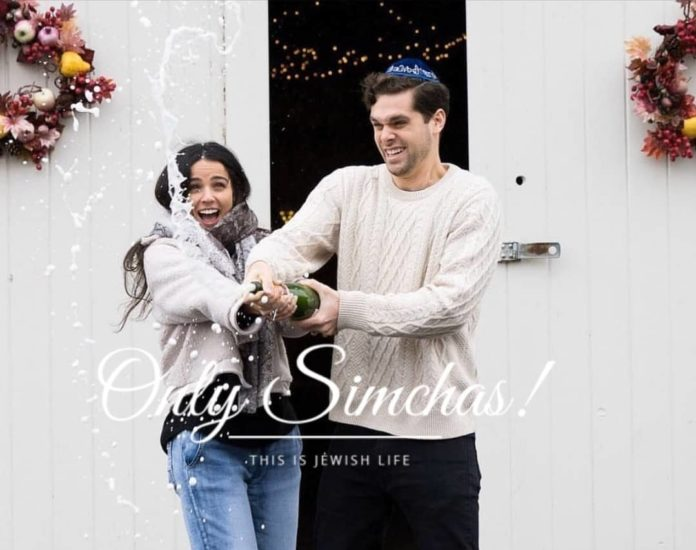 Engagement of Daniel Jonas (#riverdale) and Simone Amar (#Manhattan)! #onlysimchas