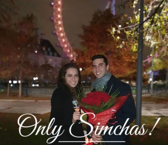 Engagement of Avi Gurvits and Yaeli Erlichman! #onlysimchas