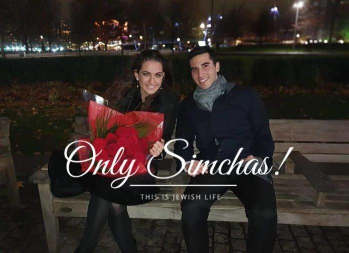 Engagement of Avi Gurvits and Yaeli Erlichman!! #onlysimchas
