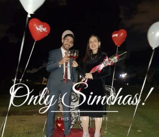Engagement of דניאל ארז & ותהילה כהן (#Israel)! #onlysimchas