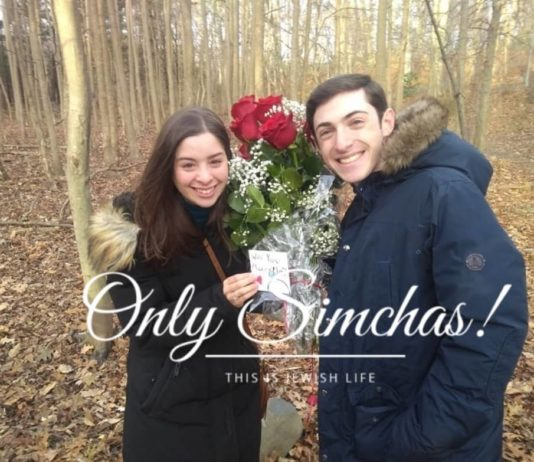 Engagement of Tamar Beer (#WestHempstead) and Josh Horowitz (#Lawrence)!! #onlysimchas