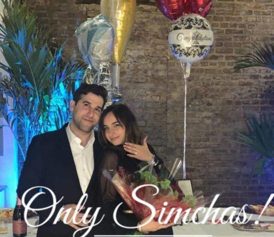 Engagement of Aaron Einhorn (#Brooklyn) to Sara Elancry (#Hollywood, #FL)! #onlysimchas