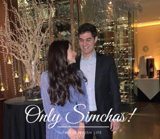 Engagement of Jacob Best (#Chicago) and Rachel Gindi (#LA)!! #onlysimchas