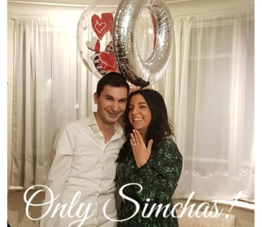 Engagement of Keren Pinhas and Moishe Heller! #onlysimchas