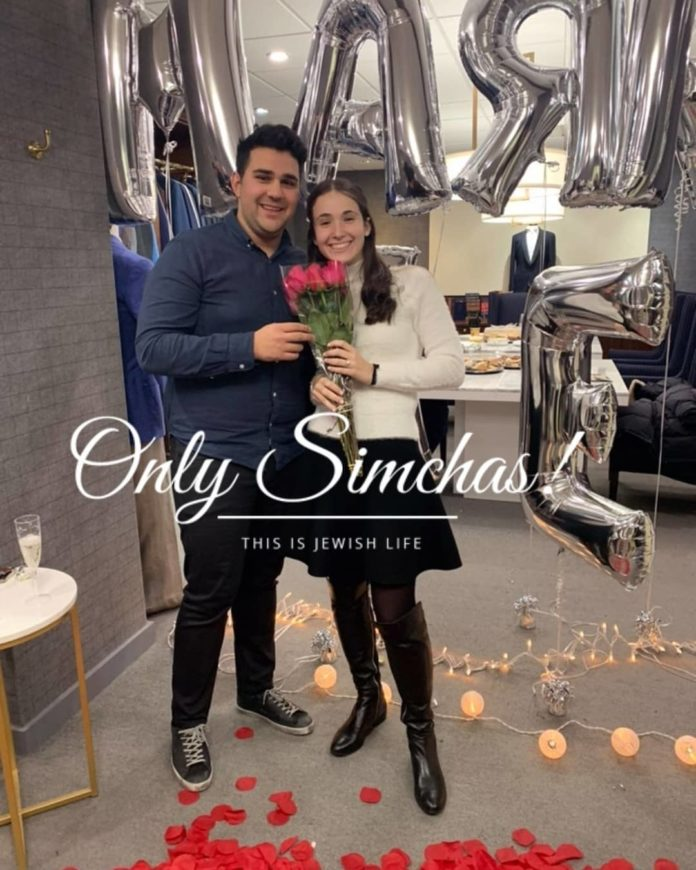 Engagement of Lauren Berman (#Toronto) And Yossi Friedman (#Montreal)!! #onlysimchas