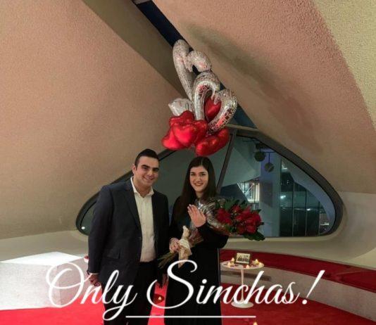 Engagement of Carly Serotta (#Houston) and Moshe Berger (#Cedarhurst)!! #onlysimchas