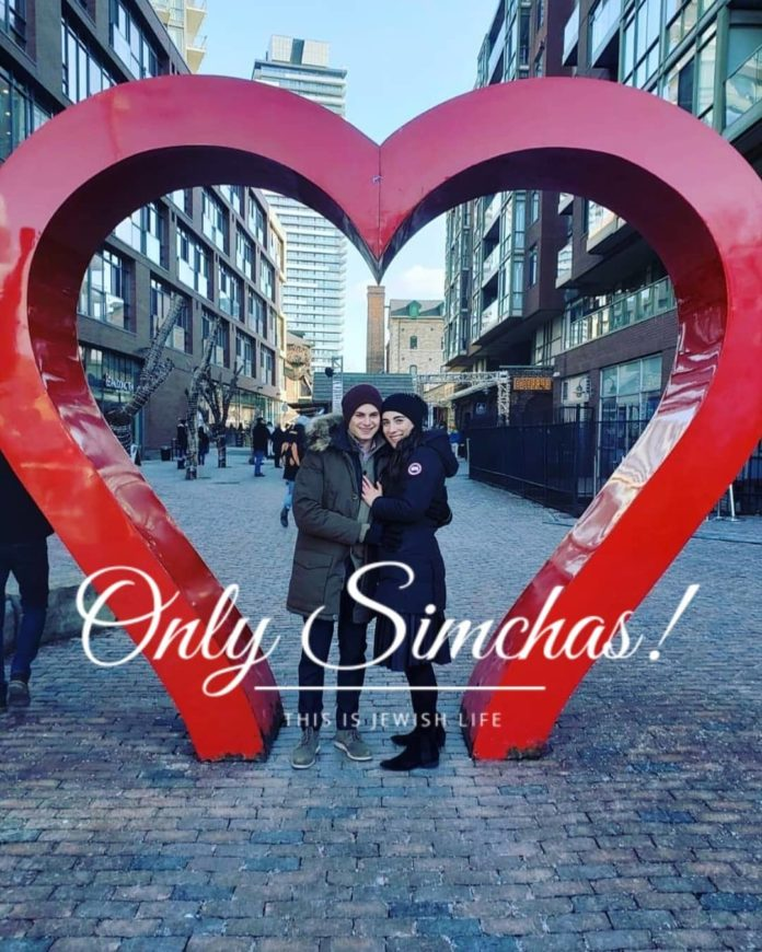 Engagement of Maya Wasserman and Yoav Vodianoi (#Toronto)!! #onlysimchas