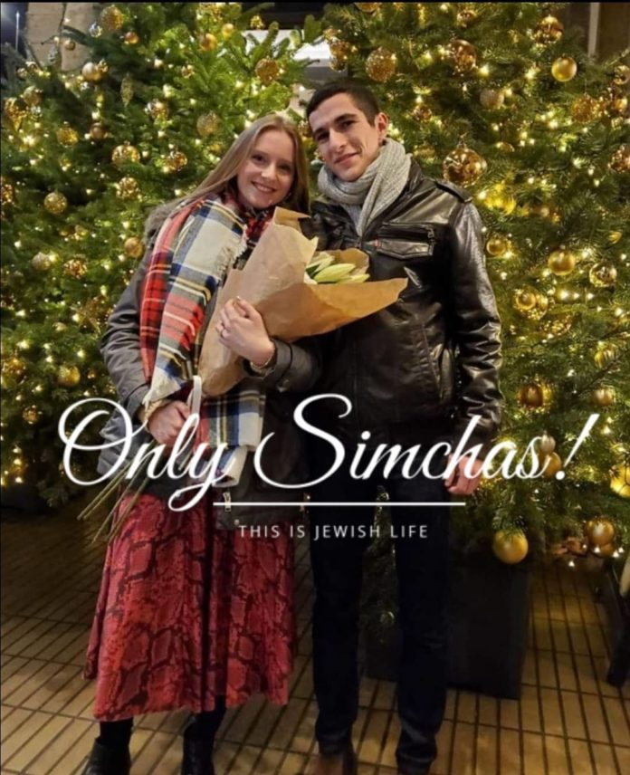 Engagement Of Avi Dowek {#Lakewood, #NJ} & Elisheva Herzog {#Edgware,#UK}!! #onlysimchas