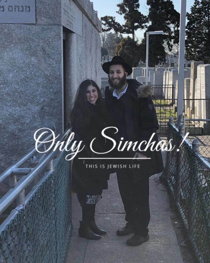 Engagement of Adina Goldman (#LosAngeles) to Levi Avtzon (#CrownHeights)! #onlysimchas