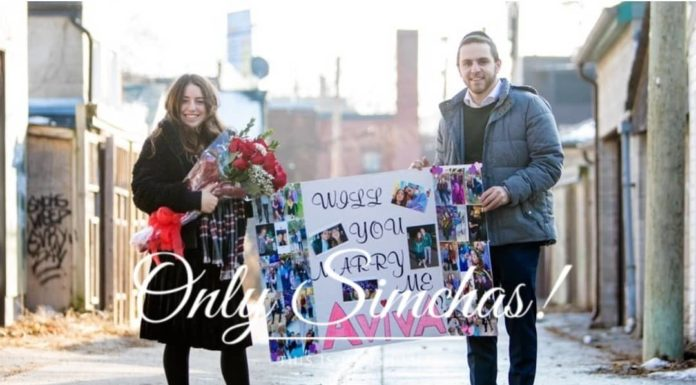 Engagement of Shlomo Mansbach (#Woodmere) and Aviva Liebowitz (#Toronto)!! #onlysimchas