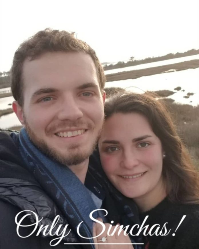 Engagement of Mickey Finkelstein (#Baltimore) and Leah Hershoff (#neveyaakov)!! #onlysimchas