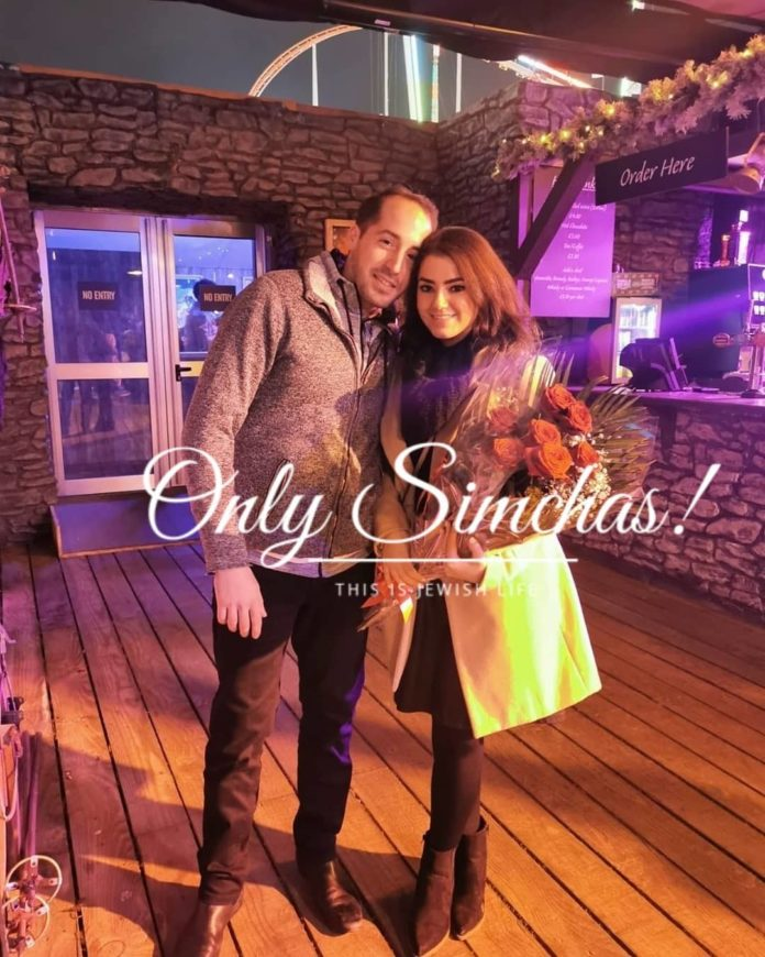 Engagement of Menachem Roitenbarg (#London) to Liora Haber (#Manchester)!! #onlysimchas