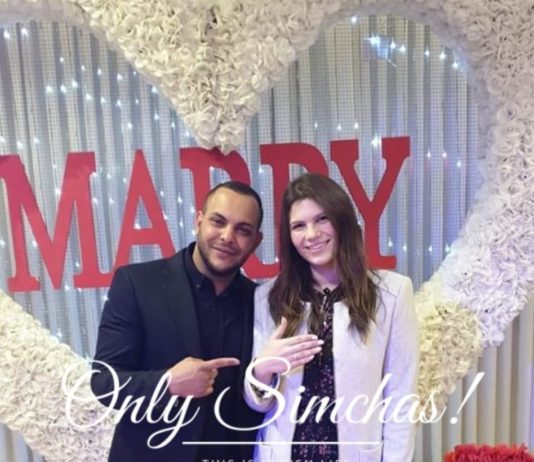Engagement of Libby Beer and Meir Shmueli (#Israel)! #onlysimchas