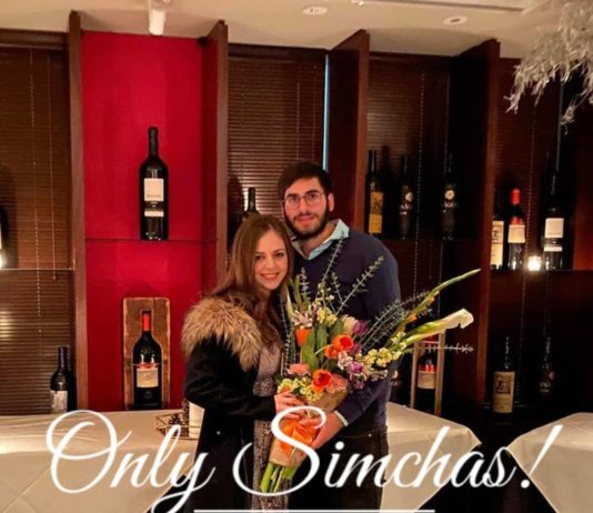Engagement of Aron Niasoff & Chani Spiero! #onlysimchas