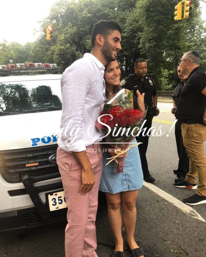 Engagement of Lauren Wildes (#Englewood) and Joseph Amar (#Florida)!! #onlysimchas