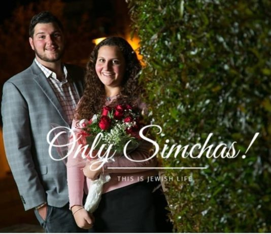 Engagement of Elisheva Kornblit (#RBS) and Baruch Goldsmith (#Baltimore)!! #onlysimchas Photo by @shirakornblitphotography