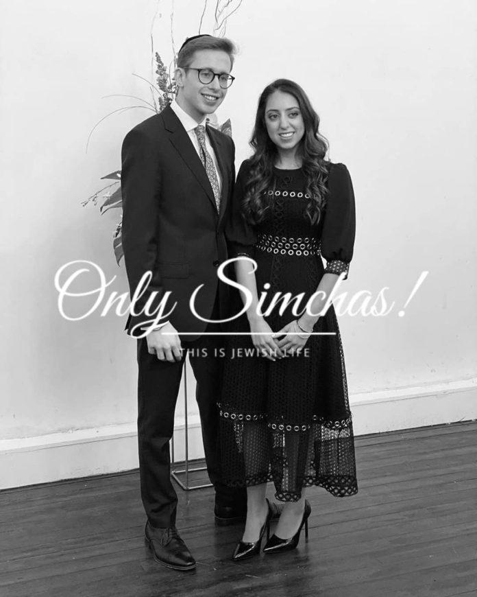 Engagement of Akiva Bitan (#Manchester) & Avital Rose (#Manchester)!! #onlysimchas