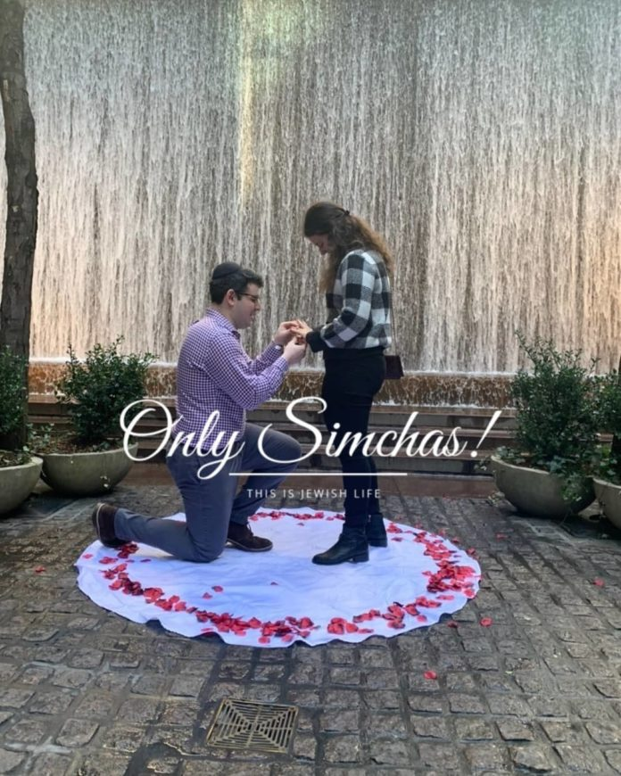Engagement of Max Herszage (#Columbus #OH) and Gabi Silbiger (#StatenIsland)!! #onlysimchas